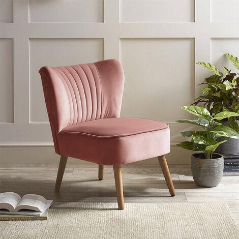 Tufted Velvet Leisure Chair Single Sofa