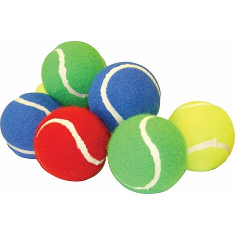 """main image of """"TUFTEX Tennis Ball Coloured - Pack of 12"""""""