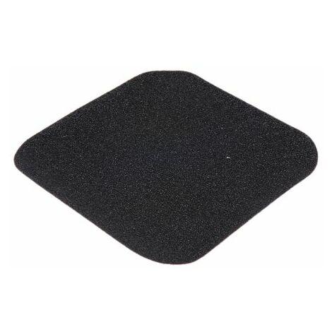 Tuile Noir, en Polymère Auto-Adhésif 0.05mm 140mm