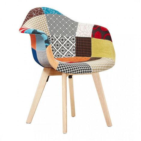 Tulip Patchwork Tub Chair