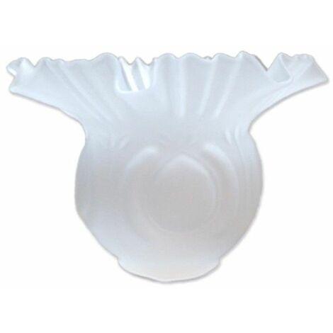 Tulipa de cristal Alcazaba mate 10x15cm con boca de 5 cm LTDE 82-M