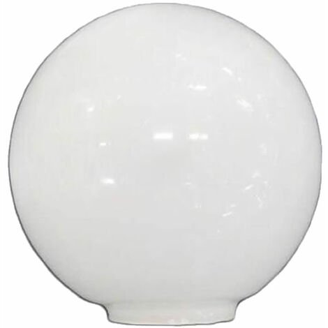 Tulipa de cristal bola opal de 12 cm boca de 5cm LB 529550