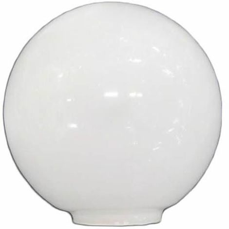 Tulipa de cristal bola opal de 14 cm boca de 5cm LTDE 100-14