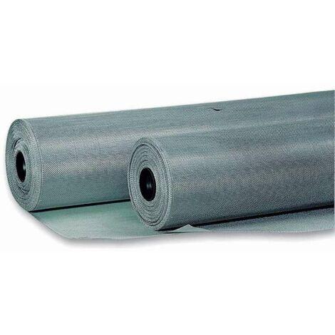 Tulle moustiquaire aluminium 100x250cm Werkapro