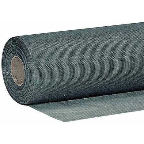 Tulle moustiquaire noir 100x250cm Werkapro
