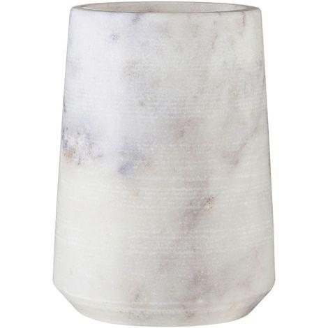 Tumbler, Marble, Off-White