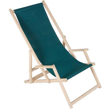 Tumbona de playa plegable Tumbona de jardín Tumbona de sol Naranja Tumbona relajante Tumbona de playa silla mecedora Tumbona de balcón