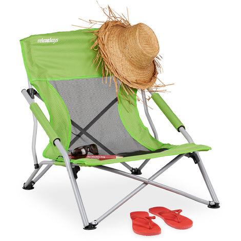 Silla Giratoria Plegable Portátil Al Aire Libre Que Va Excursión Playa