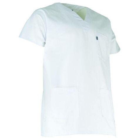 Tunique médicale blanche LMA BISTOURI Blanc XS