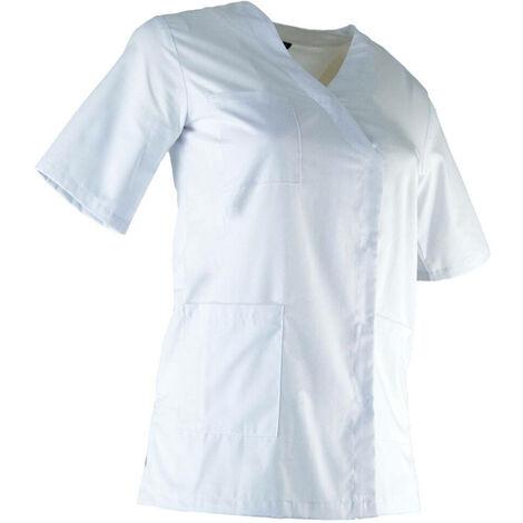 Tunique médicale femme LMA CLINIQUE Blanc XXL