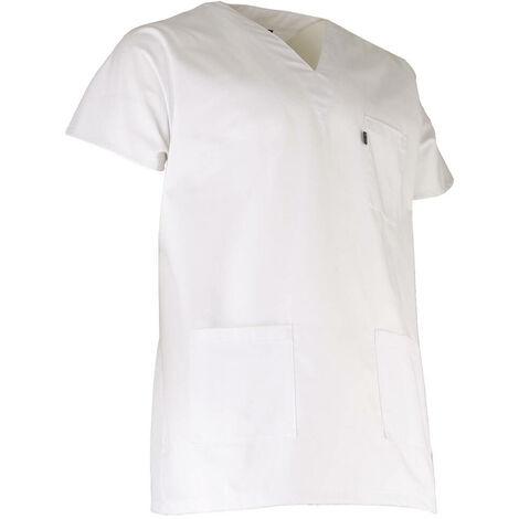 Tunique médicale homme - BISTOURI - Blanc