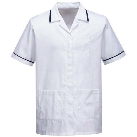Tunique médicale homme Portwest workwear Blanc