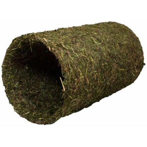 Tunnel de foin pour lapin et cobaye