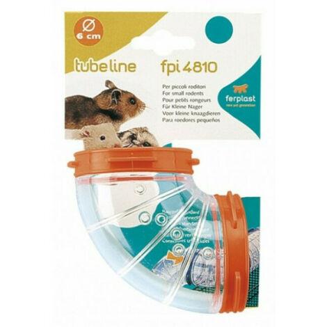 Tunnel pour cage hamster Ferplast incurvé FPI 4810 Curve