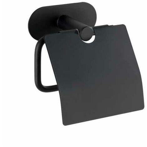 Turbo-Loc® Escobillero Orea Black mate con tapa acero fino