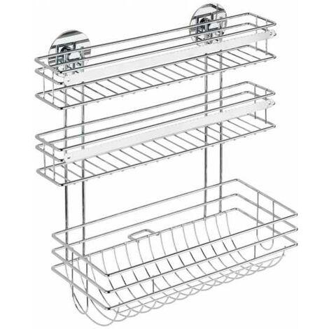 Turbo-Loc® kitchen roll holder Trio WENKO