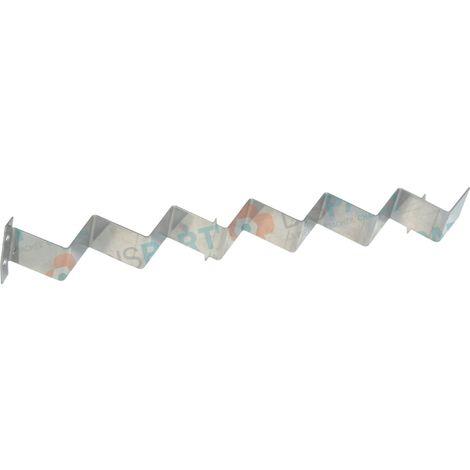 Turbulateur zigzag plié lg 300mm Réf. 87168348330