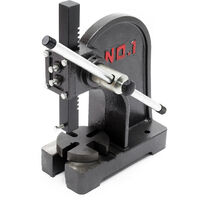 Turning arbor press up to 1T Workshop press Hand press Hand lever press Punching