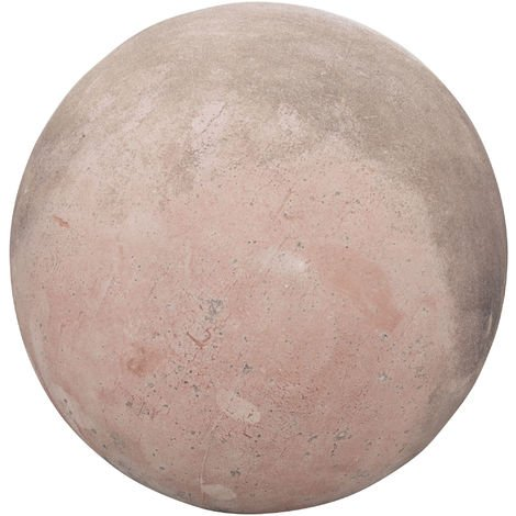 Tuscan terracotta made W30xDP30xH30 cm sized aged sphere