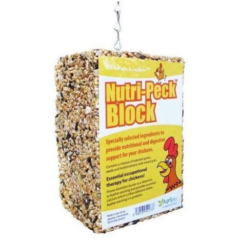 Tusk Chicken Lickin´ Nutri-Peck Block