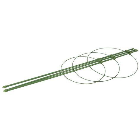 """main image of """"Tuteur à 3 anneaux pour plante - ø 180mm , 200 mm et 220 mm"""""""