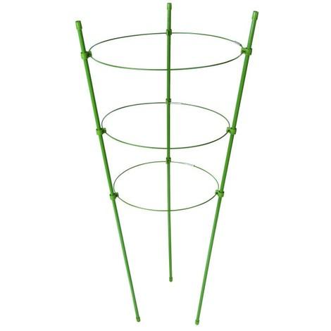 Tuteur à 3 anneaux pour plante ø 180mm , 200 mm et 220 mm