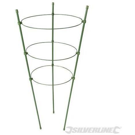 """main image of """"Tuteur à 3 anneaux pour plante, ø 180mm , 200 mm et 220 mm, Diamètre 180mm . 200 Mm Et 220 Mm"""""""