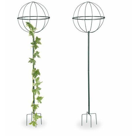 Tuteur de jardin set de 2 157 cm