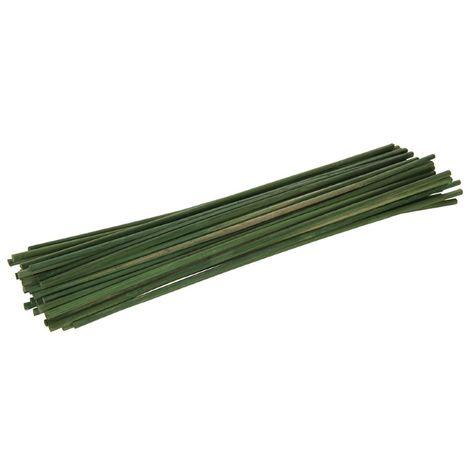 Tuteurs en bambou 300 mm, 50 pcs