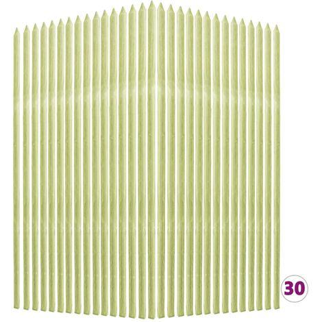 Tutores plantas 30 uds madera pino impregnada 2,8x2,8x150cm