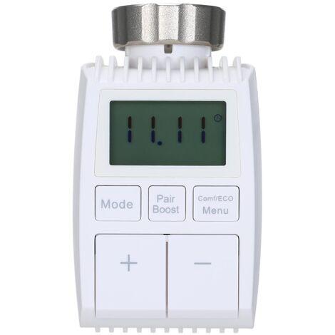 Tuya Bluetooth Smart Thermostat Temperaturregelventil Thermostatisches Heizkorperventil Automatischer Regler zur Einstellung der Raumtemperatur ohne Batterie