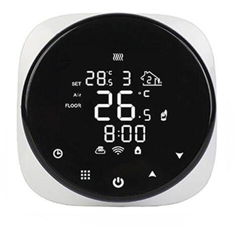 Tuya Smart Wifi Thermostat Chauffage au sol Thermostat de chaudiere a gaz Livraison sans prise sans batterie Plomberie