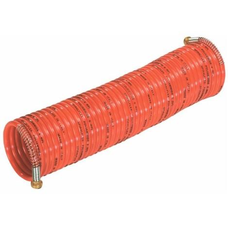 Tuyau à air comprime spirale 10 mt à baïonnettes