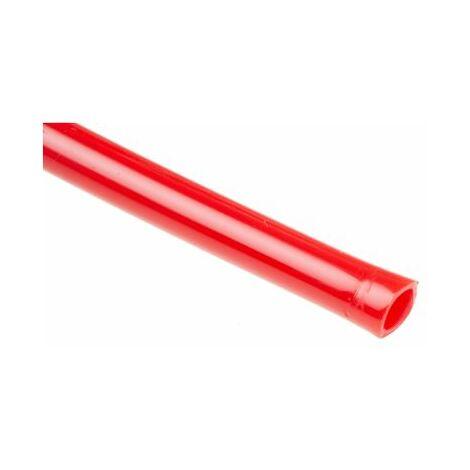 Tuyau à air RS PRO, 30m Rouge, en Nylon, Diam.ext 6mm