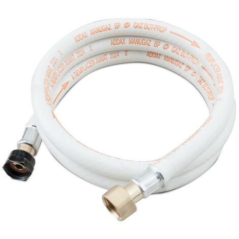 Tuyau à gaz flexible 150 cm avec embouts vissés avec packaging