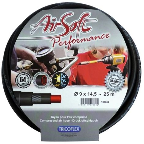 Tuyau air comprimé Airsoft Performance, diamètre intérieur 10 mm - extérieur 15,5 mm, longueur 25 m
