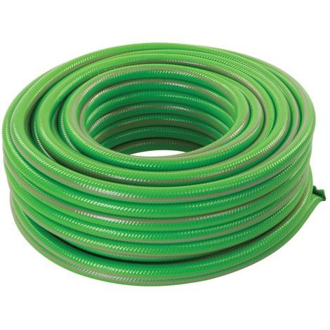 Tuyau arrosage vert PVC renforcé - 30 m