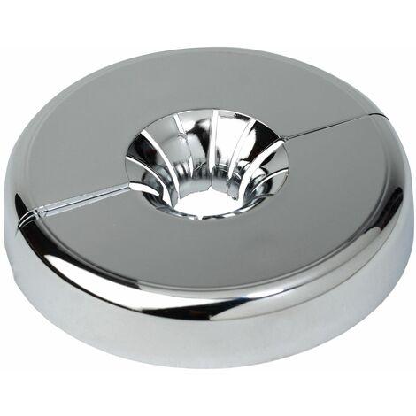 Tuyau Cuivre Collier Couverture Avant Universel 12-18mm Tube Diamètre PVC Chromé