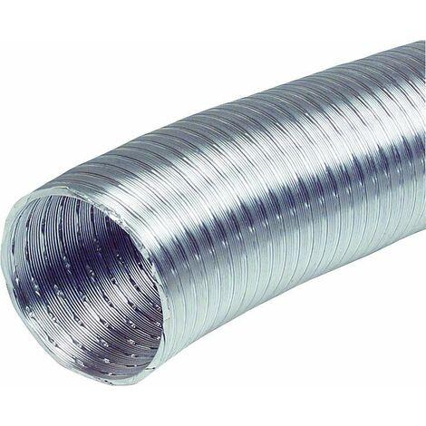 Tuyau d'aeration flexible NW 125 ALF 5 m resistant a la chaleur jusqu a 200°C