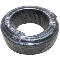 tuyau d'air comprimé 10x17 mm 20 bar max 60 barres noires mètres 25 mètres made in Italy.