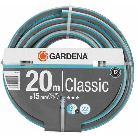 Tuyau d'arrosage classic GARDENA - diametre 15mm - 20m 18013-26