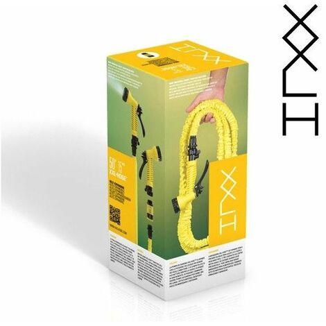 Tuyau d'Arrosage Extensible Hose XXL - 15 m - Accessoire de jardin