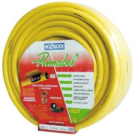 Tuyau darrosage Hozelock Primabel Schlauch 116378 1/2 pouces 50 m jaune Tuyau darrosage