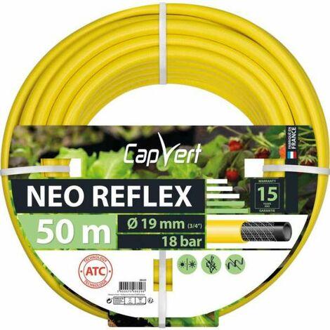 Tuyau d'arrosage Néo Reflex Diamètre 19 mm - Longueur 50 m - Cap Vert