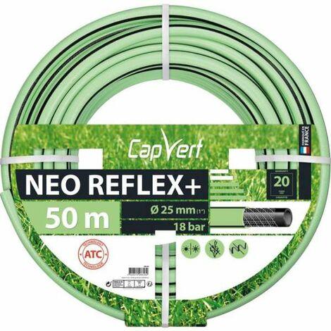 Tuyau d'arrosage Néo Reflex+ Diamètre 25 mm - Longueur 50 m - Cap Vert