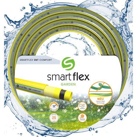 """Tuyau d'arrosage SMARTFLEX SMT Comfort Multicouche 25m Ø25mm (1"""") 7 bars Robuste Anti torsion"""