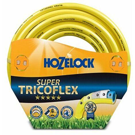 Tuyau d'arrosage tricoté 5 couches 25Mt-19Mm Jaune Super Tric Hozelock 25 Mt 139142