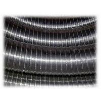 Tuyau de cheminée 316 de diamètre en acier inoxydable de 10 100 tonnes de surface interne lisse conformément à la norme EN 1856 CE 2