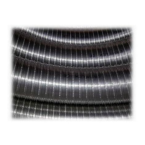 tuyau de combustion en acier inoxydable 316 10 mt diamètre surface interne lisse 120 mm selon la norme EN 1856 CE 2