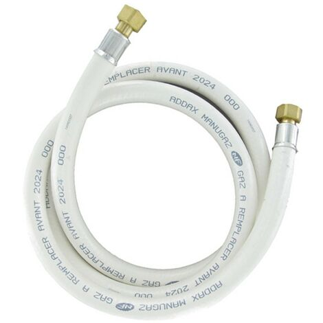 Tuyau de gaz naturel long. 1.50M garantie 10 ans (NC150EX26) Accessoires et entretien 296185 WPRO